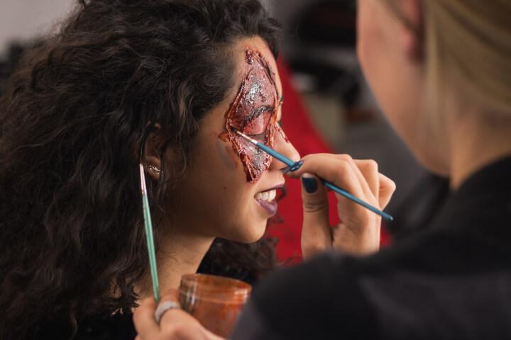 make-up artist